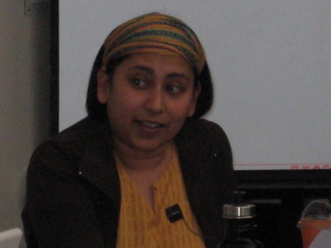 Soumya at UVic M21 2010